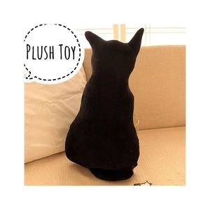 "Other - Brand New Black Cat Plush Toy Kitten 11"" Cute"